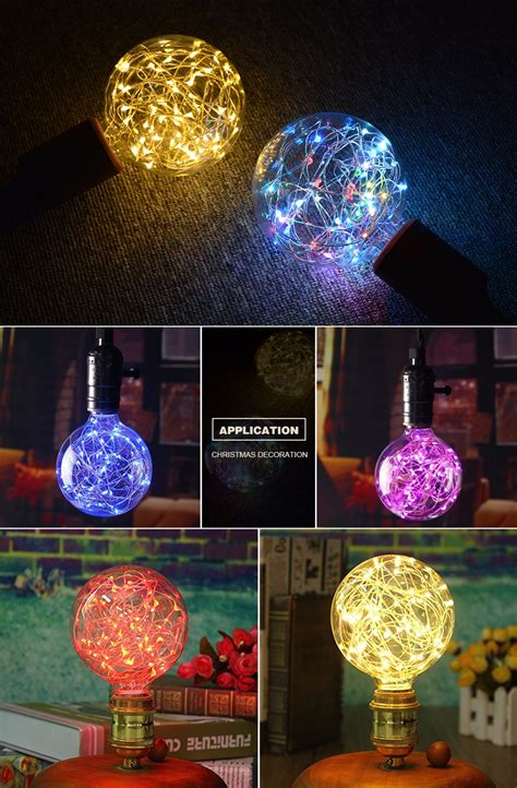 ok lighting home decor 28 images youoklight e27 7w e27 110v 220v retro edison fairy led string light bulb rgb