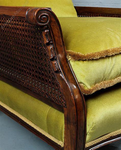 pair edwardian bergere armchairs antiques atlas