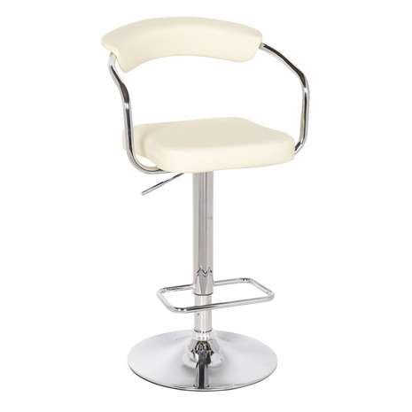 gas bar stools houston upholstered cream gas lift bar stool dunelm