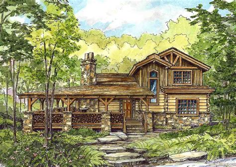 log homes with wrap around porches plan 13318ww wrap around porch wrap around porches log cabin homes and design