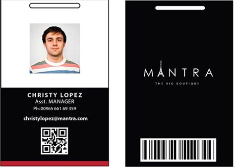 64 Amazing Id Card Templates To Download Sle Templates Id Templates