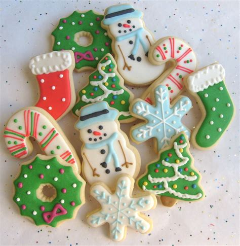 christmas cookie mix christmas decorated cookies 1 dozen