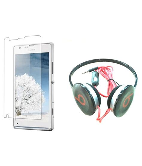 Headphone Sony Xperia M sony xperia m headphone anti shock screen guard with mic by mydress mystyle buy sony xperia