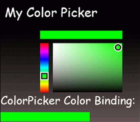 using coding4fun colorpicker in windows phone 7