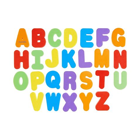 Letter And Number munchkin bath letters numbers at 163 6 29