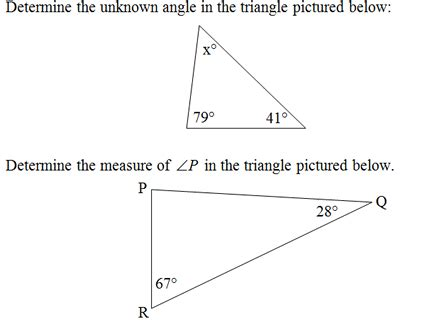 Interior Triangle Angles by Triangle Interior Angles Worksheet Pdf And Answer Key