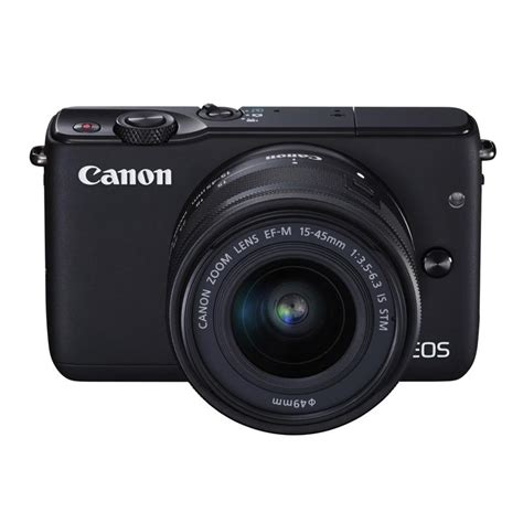 Cashback Canon Eos M10 M 10 15 45 Kit Datascript canon eos m10 compact system cameras ef m 15 45mm lens compact system