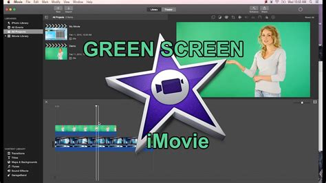 imovie tutorial on youtube imovie 10 quick green screen tutorial youtube