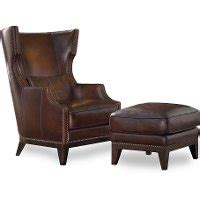 brown leather circle ottoman espresso brown wingback leather chair ottoman rc