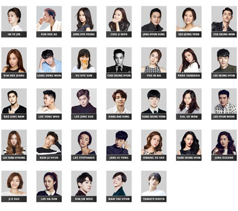 actor in yg kkuljaem actors actresses from jyp yg and sm c c