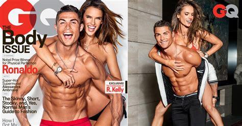 alessandra ambrosio photos sexiest magazine shoots ny daily news cristiano ronaldo and alessandra ambrosio for gq photos