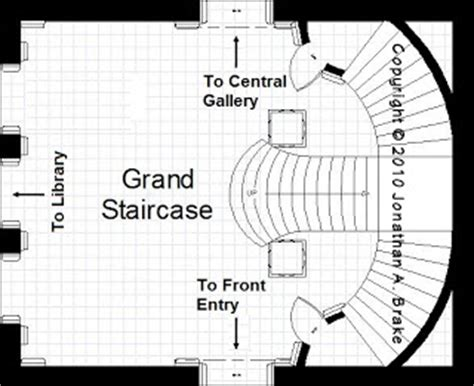 grand staircase floor plans the mansion project the mansion s grand stair hall
