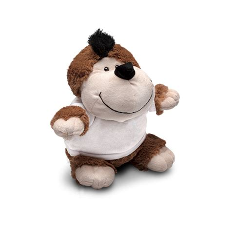 monkey soft toy 21cm