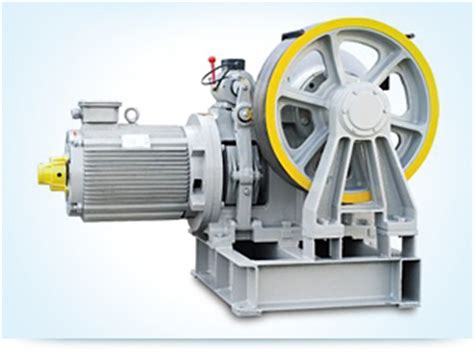 induction motor used in elevator gearless traction belt machine geared traction machine for home lifts