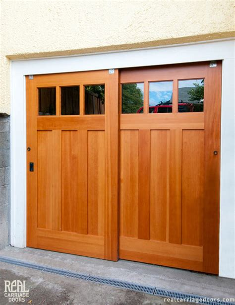 bypassing sliding garage doors