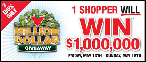 One Million Dollar Sweepstakes - milliondollargiveaway canadiantire ca one million dollar