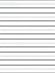 kindergarten writing paper template kindergarten journal paper template meeting the