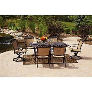 garden grove 7 piece patio dining set seats 6 collections
