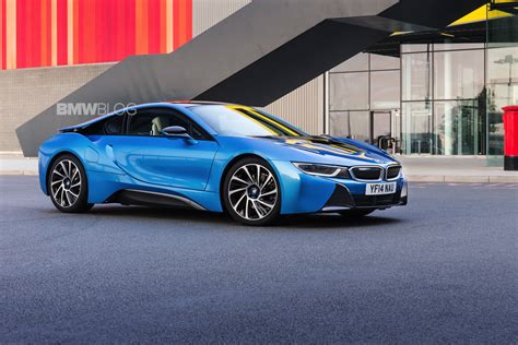 blue bmw i8 used bmw i8 sells for 50 more than msrp