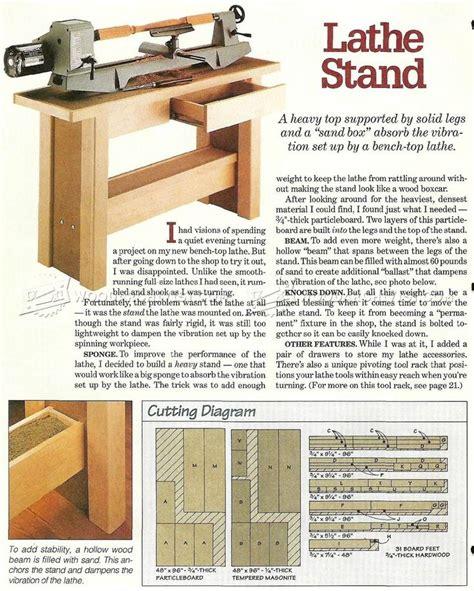 wood lathe bench plans 14 best lathe images on pinterest woodworking plans