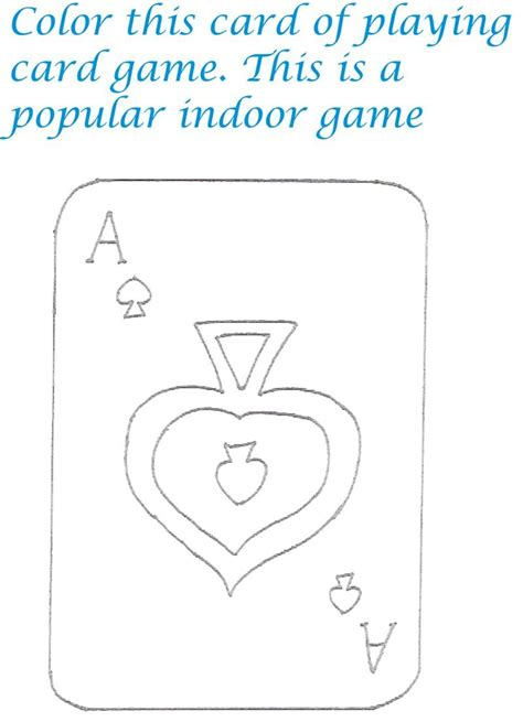 Card Coloring Templates by Free Cards Coloring Pages