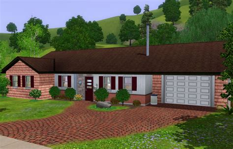Sims 3 Simple House Plans Mod The Sims The Beverly