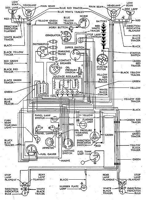 140 wiring diagram thames 300e prior febuary 1955 small ford spares