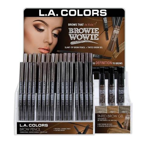 Sale La Colors Browie Wowie Brow Tinted Gel Taupe all products wholesale cosmetics and makeup distributor
