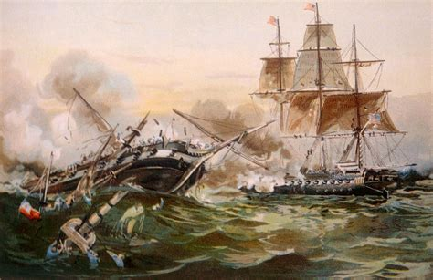 the naval war in the war of 1812 naval battle photograph by everett