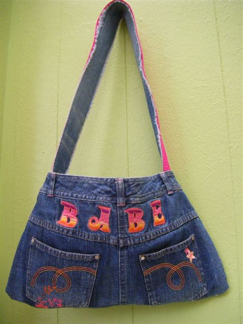 Handmade Denim Bags - handmade denim bag denim