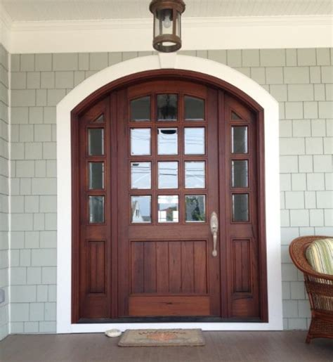 Arch Doors by Arch Top Mahogany Doors Traditional Entry Other