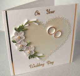 cards wedding quilled wedding congratulations card