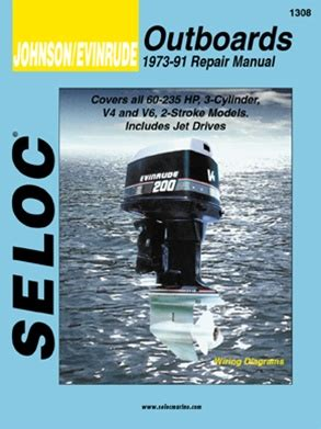 Evinrude Johnson Outboard Manuals Service Shop And