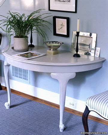 half table against wall repurposed furniture and decor furniture and