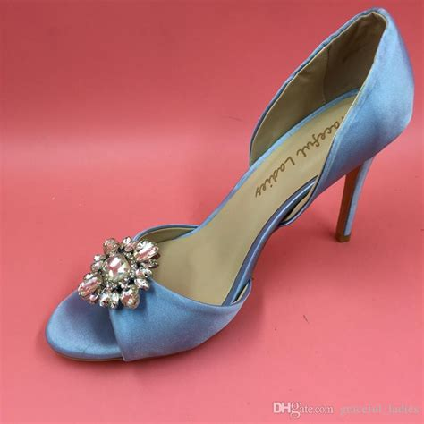 Light Blue Wedding Shoes by Light Blue Wedding Shoes Made To Order Wedding Pumps Satin