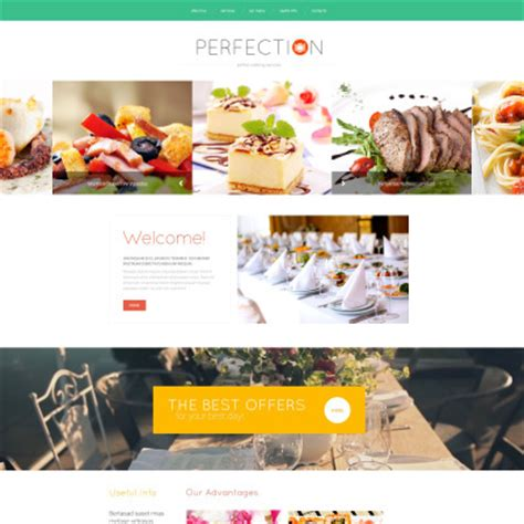 Free Website Template For Food Delivery Food Delivery Website Templates Free