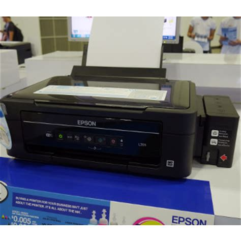 Printer Epson L355 All In One printers it show 2014 cameras printers storage