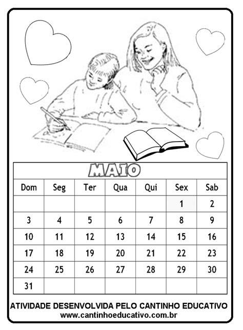 Calendã Can 2015 Para Imprimir Cantinho Educativo Calend 193 2015 Para Imprimir