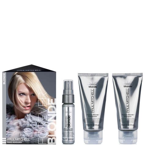 paul mitchell home paul mitchell blonde take me home kit 3 products free