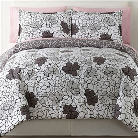 home expressions bedding home expressions elissa floral complete bedding set with