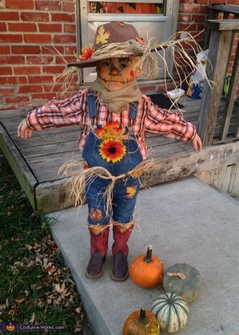 cute scarecrow boys costume easy diy costumes