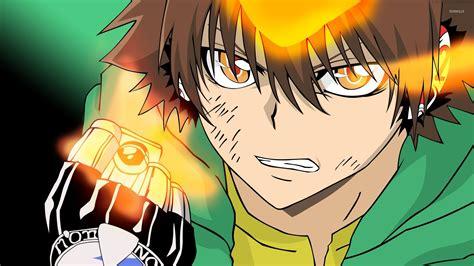 wallpaper anime reborn kyouya hibari in katekyo hitman reborn wallpaper anime