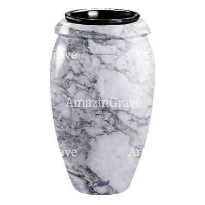 vasi in marmo vaso portafiori h 242 ra 20cm in marmo di carrara