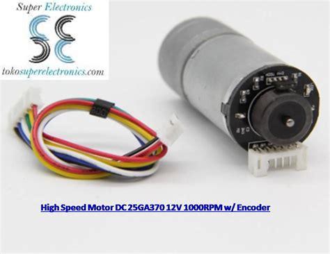 Jual Motor Dc Low Rpm motor dc 1000rpm 12v plus encoder otomatis jual motor dc encoder malang electronic