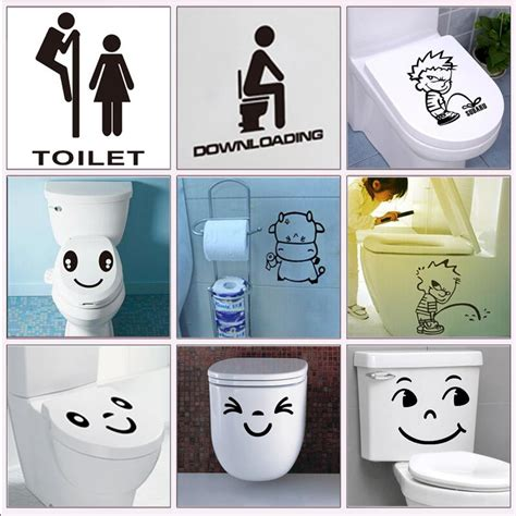 toilette bd toilet sign decorative stickers waterproof bathroom wrest