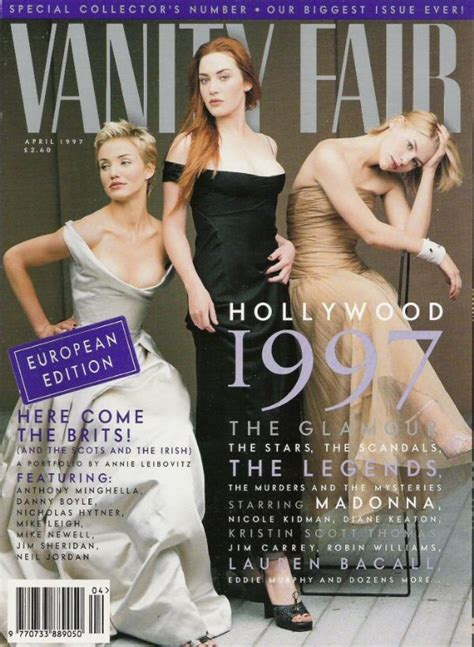Kate Winslet Gets For Vanity Fair by Kate Winslet Vanity Fair Magazine United States April