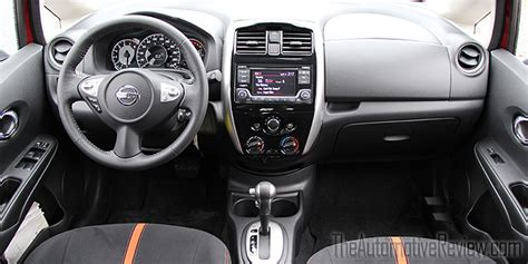 nissan note 2015 interior 2015 nissan versa note sr review the automotive review