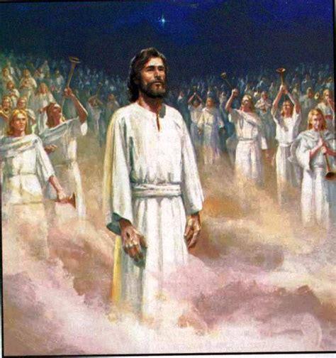 Imagenes De Jesus Vestido De Blanco | pinturas bblicas apocalipsis ap 3 5 vestido blanco