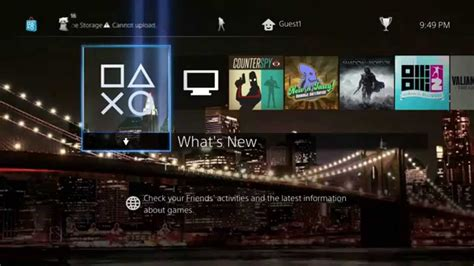 themes ps4 dynamic ps4 dynamic theme american city nyc bb brooklyn bridge