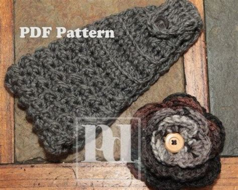 knitted headbands pattern with button crochet headband pattern with button closure crochet and